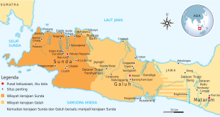 Sunda Kingdom Map