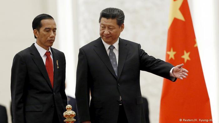 Presiden Jokowi bertemu dengan Presiden China Xi Jinping (Foto : dw.com)