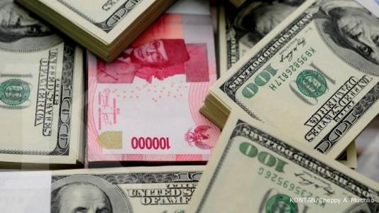 Nilai rupiah yang dapat runtuh terhadap US dolar (Foto : rri.co.id)