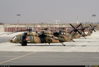 Helicopter Angkatan Darat Turki, Sikorsky S-70A Black Hawk (Foto: airplane-pictures)