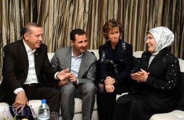Hubungan Presiden Erdogan dengan Presiden Bashar al-Assad yang semakin akrab dan berdamai sebagai negara tetangga, akankah AS ditinggalkan? (Foto:mihanpost)