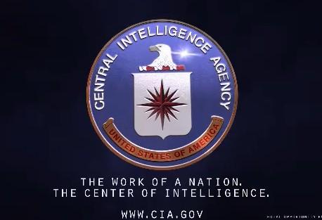 Logo CIA, Badan Intelijen Tangguh dari Pemerintah Amerika, mampu melakukan operasi intelijen di seluruh dunia (Foto :caribflame)