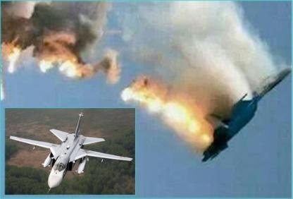 Turki akhirnya meminta maaf kepada Rusia karena Menembak Su-24 Rusia di Wilayah Udara Suriah (Foto: financetwitter)