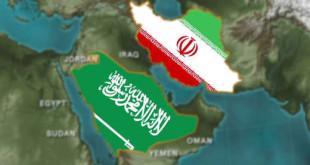 Peta Arab Saudi dan Iran