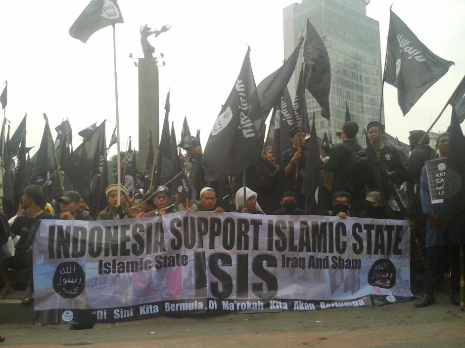 Para Pendukung ISIS di Indonesia