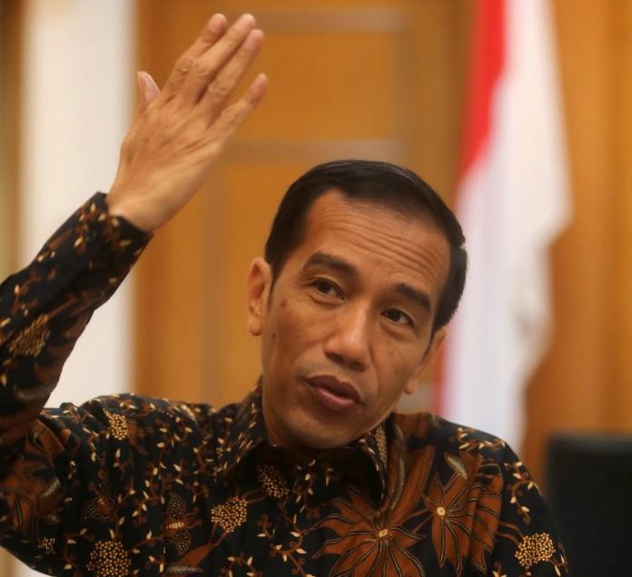 """Presiden Jokowi : """"Jangan barangnya dibawa ke saya, yang bicara itu isu pengadilan kok."""" (Foto : newsth)"""