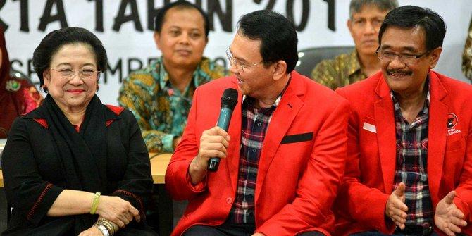 Salah satu kunci, Ibu Megawati mendukung penuh Ahok-Djarot (foto :TheJak)