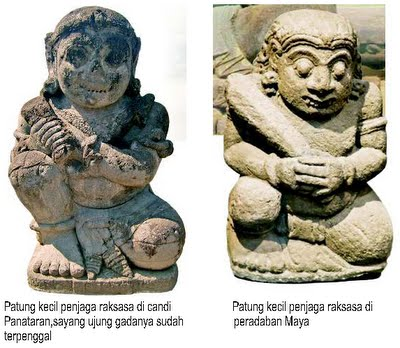 Patung Kecil Penjaga Raksasa Peradaban Maya