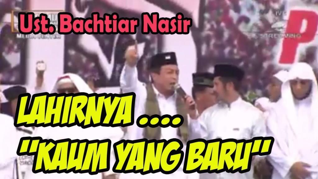 Orasi Menggetarkan Ustadz Bachtiar Nasir pada Aksi Bela Islam 212. Kaum baru? (foto :Youtube)