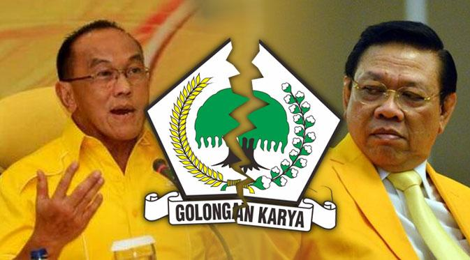 Aburizal Bakrie dan Agung Laksono (foto : Pekannews)