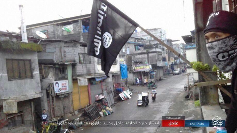 Kasus Marawi, ISIS hanyalah sarana proxy pada posisi layer terbawah (foto : Al-Masdar)