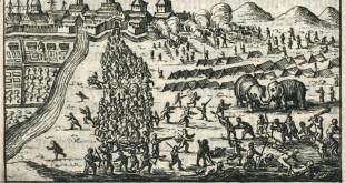 Serangan di Batavia oleh Sultan Mataram pada tahun 1628.