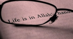 Life is in Allah