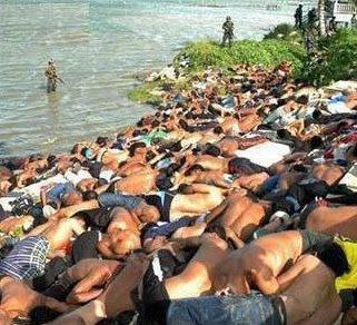Militer Myanmar membantai warga Muslim Rohingnya