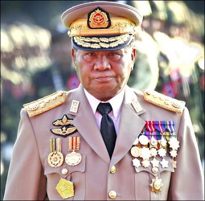 Than Shwe, tokoh rezim junta militer Myanmar